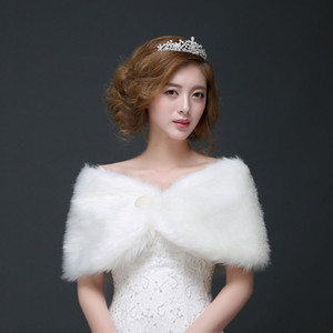 da5cM New Bridal dress wool Coat wedding autumn and winter shawl wedding cheongsam coat bridesmaid dress shawl warm 2019