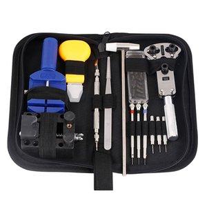 14  16 pieces Watch repair tool Kit Pin Set Watch Case Opener Bracelet Link Remover Screwdriver Tweezer For Watchmaker