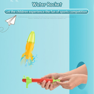 Colorful Children water rocket toy Water toy Fun Summer beach game Baby Kid early education toy