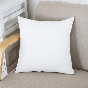 Sublimation Pillowcase Heat Transfer Printing Pillow Covers Blank Pillow Cushion 40X40CM without insert polyester pillow Covers AAB1853