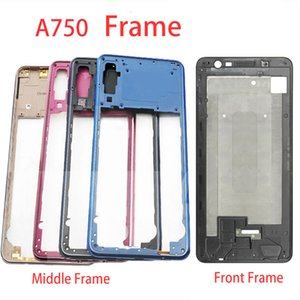 Front Housing LCD Frame For Samsung Galaxy A7 2018 A750 A750F Middle Frame Back Plate Housing