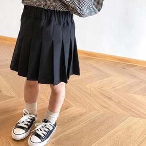 INS Kids Clothes Girls Ruffles Skirt Children Princess Dress Spring Autumn Fashion Boutique Cotton Skirts Baby Clothing