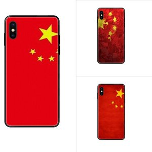 Для iPhone SE2020 11 12 Plus Pro X XS Max XR 8 7 6S SE 5 5C 5S мультфильм Pattern Phone Case China Flag