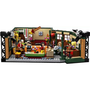 Nuova serie TV classica American Drama Friends Central Perk Cafe Fit Model Building Block Brick Bricks Inglyes 21319 Gift Gift Bambino LJ200925