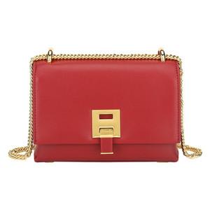 Versatile commuter style buckle chain square messenger bag single shoulder crossbody bag handbags tote bag