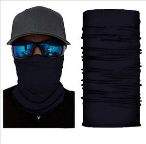 Turban Sólidos Magia lenço Bandanas Sunblock Sports Headwarp Escudo Ciclismo Neck Enrole Headband Proteção Máscara Dustproof Máscara DHD1217