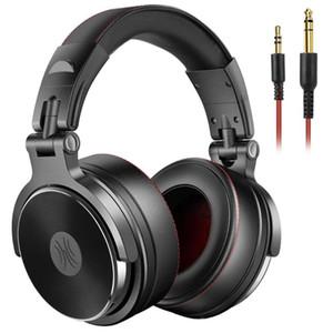 Oneodio con cable de cabeza profesional de DJ Studio Pro auriculares con el MIC Dual-Duty cable cadena Monitor de Manos Libres de Música Para PC Phone