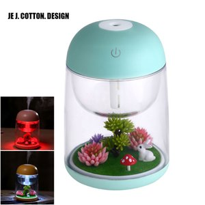 180ml Landscape LED Ultrasonic Air Humidifier Home Appliances Mist Maker USB Fogger Aroma Essential Oil Diffuser with Light