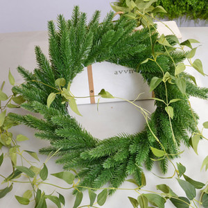 Artificial Flower Green Pine Needles | Decoration, DIY Crafts, Christmas Decoration Garland, Scrapbook, Fake Plant 5pc
