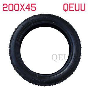 내부 - 튜브 및 외부 타이어 200x45 면도기 스쿠터 E-스쿠터 접는 면도기 E-스쿠터 8 인치 200 * 45 타이어 맞춤 전기 스쿠터