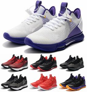 Gerações Moda James Testemunha IV 4 EP Mens Mens tênis de basquete 4s Trainers Homens Esporte Sneakers NakeskinJordâniaRetros Hot