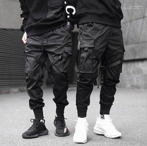 Mode Pantalon Adolescent Crayon Pantalons Hommes et fonctionnels tactique Tooling Pantalons simple Pantalons Jogger Printemps Eté
