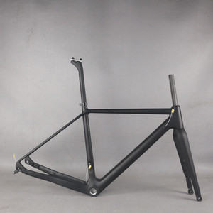 2021 NEW Gravel bike carbon frame 700*42C Carbon frame bike Frameset Cyclocross Disc bike Di2 frame with seatpost GR029