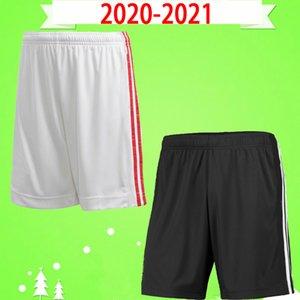 Manchester united Manchester 2020 2021 de futebol UTD Estados calções VAN DE BEEK B. FERNANDES MARCIAL Rashford calças de futebol 20 21 lar longe preto branco