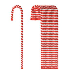 15x Candy Cane Arbre de Noël Hanging Décoration Ornement rouge blanc 50cm