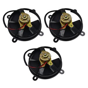 3x 5- 12V Engine Radiator Cooling Fan Assembly Universal For 150cc ATV
