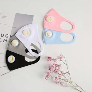ABD'de gelmesi 3-7! güzel paketlenmiş üniseks solunum valf toz geçirmez koruyucu maske yıkanabilir yeniden buz ipek pamuk moda maske