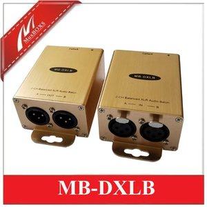 1250 m için Cat5e / 6 öne gelecek Cat5 XLR Extender Cat5 XLR Audio Converter genişletici dengeli ses