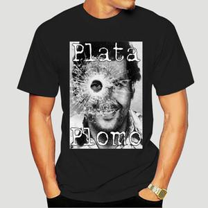 Pablo Escobar T-Shirt kolumbianische Drogen Herr Cartel Geld T-Shirt Sommer-Unterhemd-T-Shirt-3681A