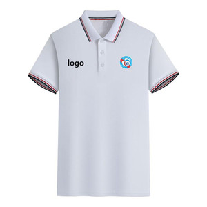 Slim Fit Campo de la camiseta del polo Racing Estrasburgo hombres del verano de manga corta polo camiseta ocasional de deporte