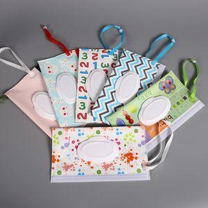 EVA Wet Wipes Bag Outdoor Travel Newborn Wipe Case Box Bag Eco-friendly Wet Paper Towel Bag