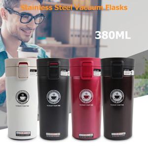 380ml camadas duplas portáteis de aço inoxidável Thermo Viagem Cup garrafa Caneca do leite caneca térmica garrafa térmica frascos HOT