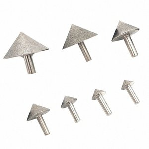 Elektroliz Diamond 20-50mm Koni Pah Taşlama Baş Taş Cam Pah Kafa Zımpara Aracı Aksesuar Ge6G #