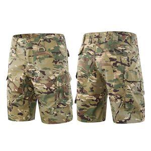 2020 Tactical Combat Shorts Chasse Séchage Shorts Outdoor Training rapide Armée Camo Workout Vêtements Paintball Camping