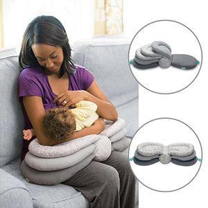 جديد الوسائد قابل للتعديل نموذج وسادة تغذية الرضع وسادة رعاية الطفل متعددة الوظائف التمريض الرضاعة الطبيعية الغلاف قابل للغسل الطبقات