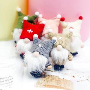 Wool Cute Gnome Doll Christmas Doll Pendant Creative Christmas Tree Decoration