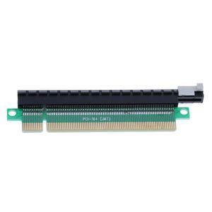 Компьютерные кабели разъемы PCIE 16x Riser Card PCI-Express X16 Plow-Card Protector Mean-Blue