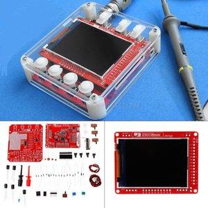 DSO138mini Digital Oscilloscope Kit DIY Learning Pocket-size DSO138 Upgrade+Acrylic Protection Case Mr07 19 Dropship