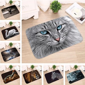 Rug Kitchen 3d Non-slip Bathroom Print Bedroom Doors Mats Water Living Mat Carpet Absorption Animal Room Entrance sweet07 SYrzp