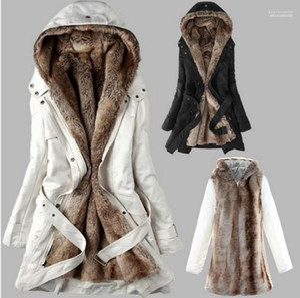 Down Jacket Long Coat 19ss Winter Women Down Coats Thick Warm Long Fur Designer