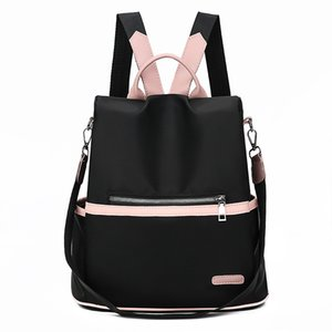 Vintage Oxford Backpack Women Travel Satchel Casual Shoulder School Bagpack Female Back Pack Vintage Cute Backpack Women g8Pu#