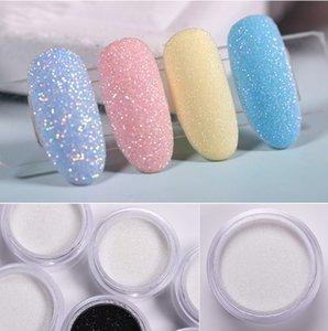 10g Brilhante Sugar prego Glitter doce pó do açúcar Coating Efeito Pó prego Pigment Chrome 1g Nail Art Decoração Poeira