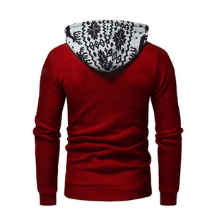 deer hooded long-sleeved slim sweater Fashion Tops Pullovers 2018 mens designer hoodies Autumn new men's fashion Christmas