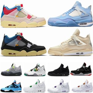 Auf X air jordan reto 4 4s  Bred 2020 Mens Basketball Schuhe Metallic Silber WMNS 11s Loyal Blau 4s Was Die 4 Männer Frauen Sport Turnschuhe 36-47