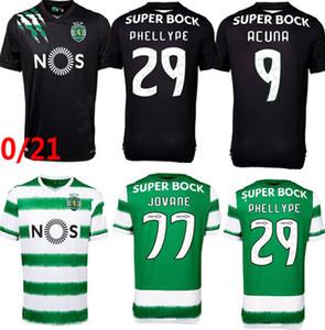 Sporting CP 20 21 LISBOA SOCCER JERSEYS VIETTO COATEES ACUNA Accueil 2020 2021 Sporting Clube de football maillot de football Maillot de pied Thaïlande