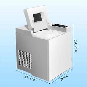 Home use Portable Ice Maker Machine for Countertop, Ice Cubes Ready in 6 Mins Make 6.5kg, for Parties 110W
