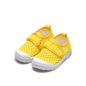 Schuhe Kinder Kinder Sneakers Air Mesh atmungsaktive Soft Net Stoff Jungen Mädchen Kleinkinder Sport-beiläufige Turnschuhe laufen Süßigkeit-Farben