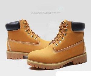 Vente en gros classique Big Tree Marque travail Designer Bottes de randonnée pour hommes et des femmes des bois de luxe Marque rétro sneakers 36-45