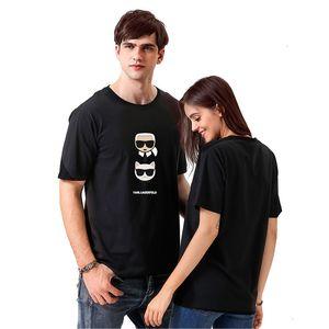 Smzy Karl Tshirt Summer Tag свободной девушка футболка Мода Смешной Печать Tshirt Мальчик Белый Повседневные Женщины Дешевые футболки Q190518 69BE
