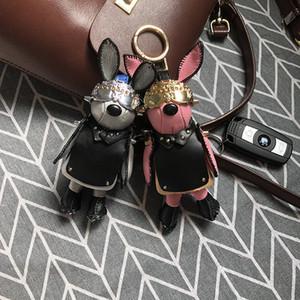 New Space Keychain Star Head Pendant Key Chain Plush Car Bag Hanging Decoration Keyring Cute Woman Gift Key Ring