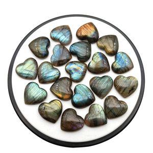 Бесплатная доставка оптом в форме сердца лабрадоритовое натуральное сердцевидное лабрадоритовое кристалл шероховатое полированное исцеление для украшения дома драгоценности