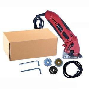Mini Electric Circular Saw Laser Cutting Wood PVC Tube Cutting Machine Circular Saw Electric Saw Power Tool 400W 3400RPM