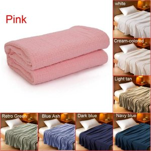 New Multifunction Cozy Warm Soft Children Cotton Knitting Sofa Bed Cover blanket light-weight blanket