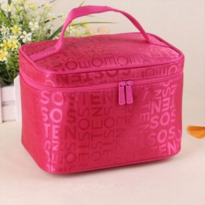 5 colors 2019 New Women Makeup Bag Cosmetic Bags Women Ladies Beauty Case Cosmetics Organizer Toiletry Bag Travel Wash Pouch