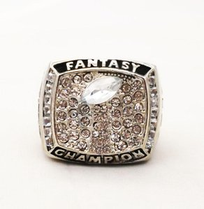 cgjxs Drop Shipping Good Quality 2018 Fantasy Football Championship Ring For Fans