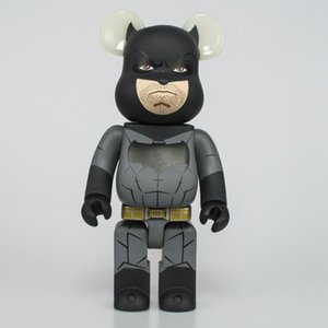 HOT 400% 28см Bearbrick BATMAN цифра игрушки для коллекционеров Be @ rbrick Art Work модели украшения детского подарка